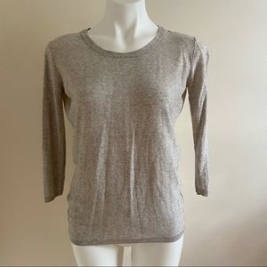 Babaton Silk Cashmere Open Back Sweater